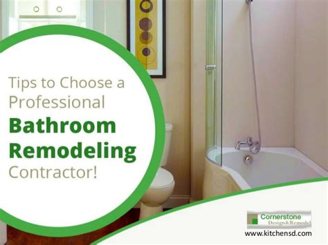 bathroom remodeling contractors in san diego how to choose