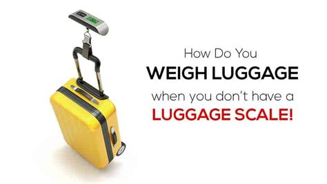 weigh luggage   scale