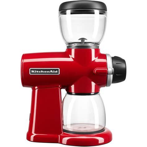 Kitchenaid Dishwasher Grinder kitchenaid burr coffee grinder kcg0702er the home depot