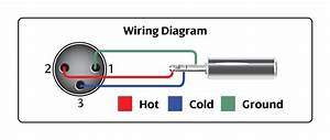 Xlr Balanced Female To 1  3 Stereo Male Wiring Diagram