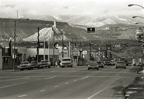 Price Utah The Day Before Christmas On Main Street In My