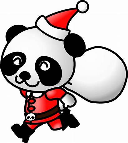 Panda Clipart Clipartpanda Clip Christmas Santa Terms