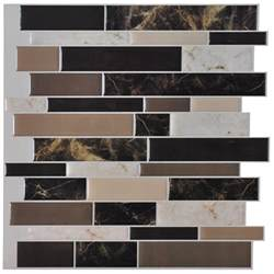 adhesive kitchen backsplash self adhesive backsplash tiles for kitchen peel n stick tile 9 5 sq ft