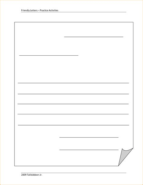 10 friendly letter template for invoice template