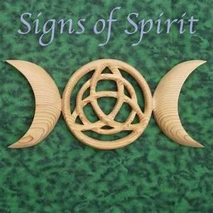 Triple Moon Triquetra - Celtic Goddess Symbol - Wiccan ...