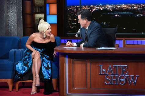 Lady Gaga Appeared On Thurday's