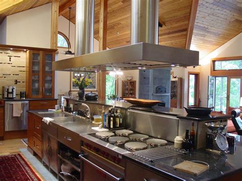 kitchen professional designs cedar lindal craftsman kitchens homes custom flickr luxury chef cooking equipment pro hood cook cooks dream range