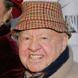 Mickey Rooney - Film Actor, Comedian, Theater Actor ...