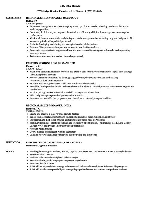 Regional Sales Manager Resume by Manager Sales Regional Resume Sles Velvet