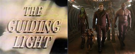 the guiding light 11 guardians of the galaxy easter eggs you probably
