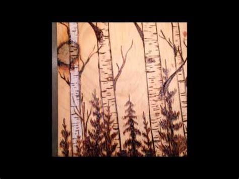 birch trees wood burning by wood burning birch trees