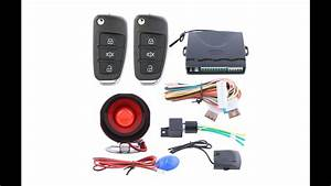 Remote Control Central Door Locking Conversion Keyless