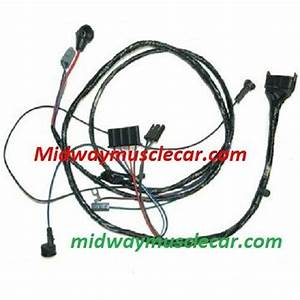 Engine Wiring Harness V8 64 Pontiac Gto Lemans 389 326