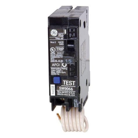Shop Ge Qline Thql 15amp 1pole Combination Arc Fault