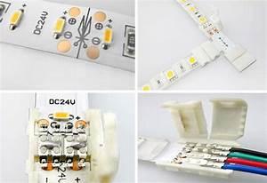 6 x Direktverbinder für 2pol SMD LED Stripe Streifen Schnellverbinder Verbinder