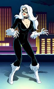 spider man the animated series black cat by stalnososkoviy ...