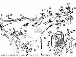 honda xl350 1976 usa parts list partsmanual partsfiche With wiring diagram further points ignition wiring diagram as well case 446