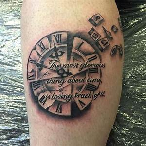Broken Clock Tattoo Design | Its my BODY! | Pinterest ...