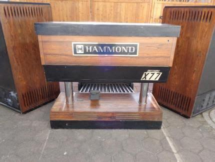 Hammond Orgel Organ X77 Mit Leslie Elektromagnetisch