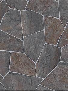 Günstig Pvc Boden : profilor messe cv belag bruchstein grau pvc boden stone ~ Whattoseeinmadrid.com Haus und Dekorationen