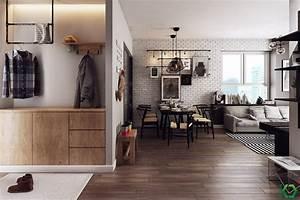 A, Charming, Nordic, Apartment, Interior, Design, By, Koj, Design