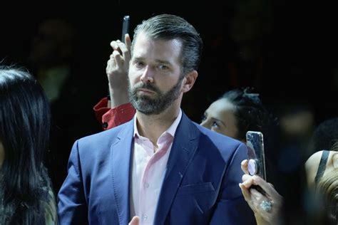 trump jr donald don after boomer ok getty booed his event whistleblower junior change allegedly pants diaper wet khanna rep