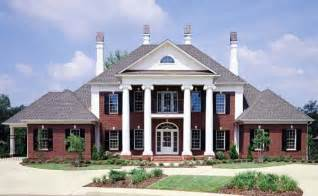 Images Historic Southern House Plans by Colonial Plantation Southern House Plan 65614