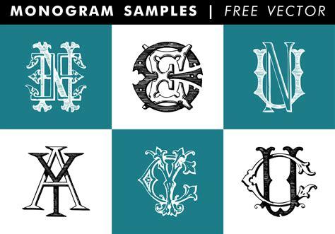 monogram samples  vector   vector art stock graphics images