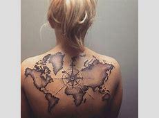 Tatouage Carte Du Monde Homme Tattoo Art