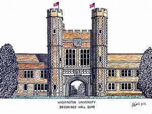 Washington University St Louis Drawing by Frederic Kohli
