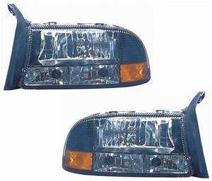Dodge Dakota Durango Replacement Headlight Assembly