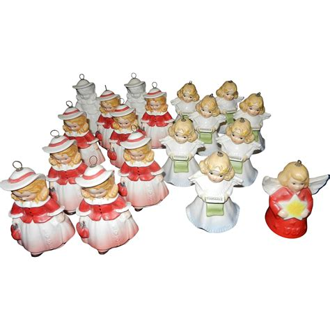 vintage goebel annual christmas ornaments southern bell