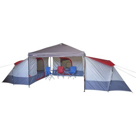 ozark trail person family big camping tent canopy camp sun shade ebay shelters