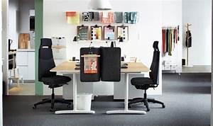 Schreibtisch Zwei Personen : home office f r zwei personen einrichten b ro pinterest buero arbeitszimmer und schreibtisch ~ Markanthonyermac.com Haus und Dekorationen