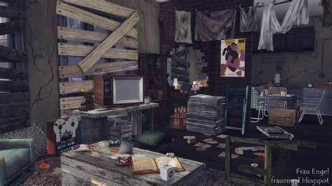 abandoned apartment  frau engel sims  updates