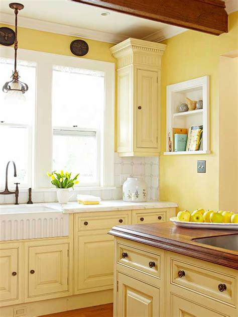 yellow kitchens with white cabinets kitchen cabinet color choices 1988