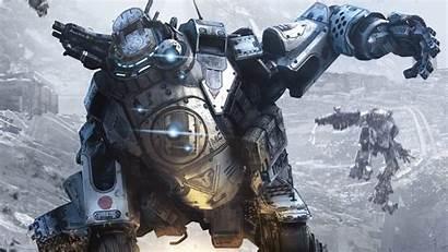 Mech Titanfall Titan Desktop Vgwallpapers Wallpapers Background