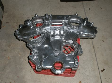 fs front  rear polished timing covers myzcom