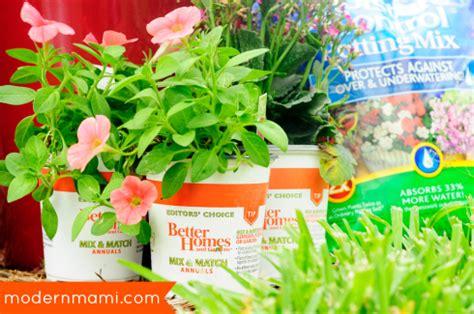 starting summer with a flower garden of own modernmami
