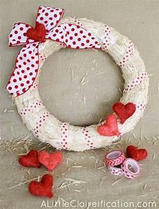 DIY Easy Valentine Wreath - A Crafty Fail? - A Little ...