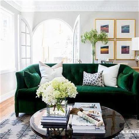 Emerald Green Room   Contemporary   living room   Sherrill