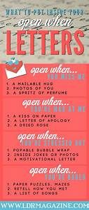 8 best open when letters images on pinterest creative With letters to my boyfriend book