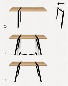 Tréteaux Pour Table : tr teaux 39 id es d co pour cr er une table ou un bureau furniture pinterest table ~ Melissatoandfro.com Idées de Décoration