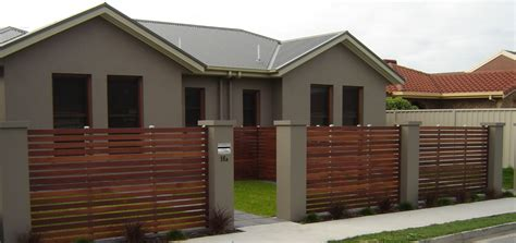 house front fence modern fence front house exterior design trends including minimalist ideas for pictures grey