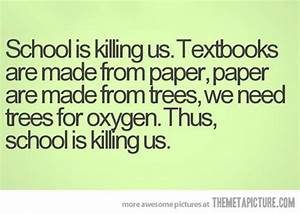 64 best School quotes images on Pinterest | Funny stuff ...