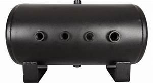 5 Gallon Black 8 Port Air Tank