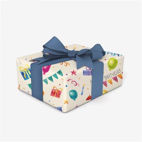 papier cadeau joyeux anniversaire cadeau maestro