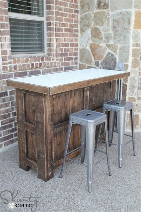 diy tiled bar  plans   giveaway diy outdoor