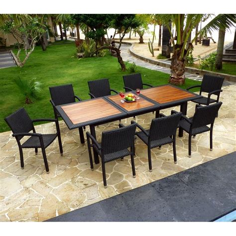 table et chaise de jardin en resine tressee best salon de jardin en teck et resine pictures awesome