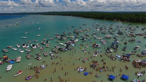 Torch lake will remind you of the caribbean with its crystal clear turquoise waters, white sandbars, and raucous summer parties. TORCH LAKE 4th of July Fireworks! (Wed. July 3, 2019 ...
